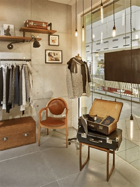 how to wear vintage for vintage industrial style vintage industrial charm defines new fashion clothing store in moscow freshome
