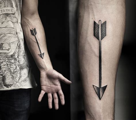 arrow forearm tattoo best tattoo design ideas