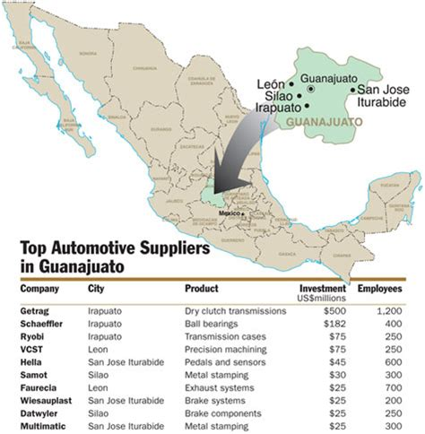 december 2009 geo mexico the geography of mexico mexico site selection magazine january 2009
