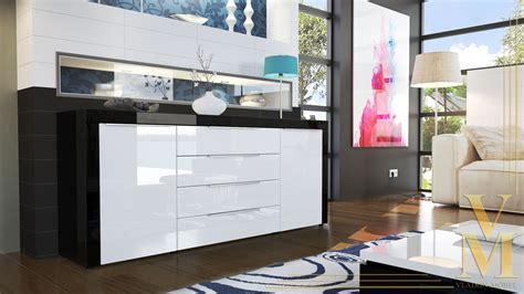einbauküche schwarz hochglanz sideboard wei 223 schwarz hochglanz deutsche dekor 2017