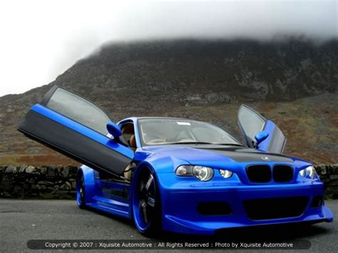 custom car modified bmw cars