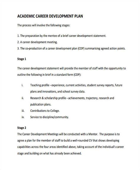 academic success plan template images templates design ideas