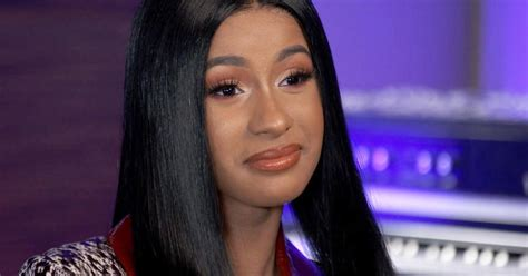 preview grammy nominee cardi   shes successful  people     reachable