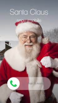 santa calls you on the app store
