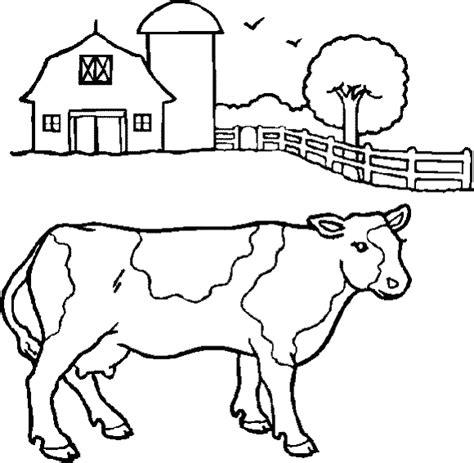 coloring page farm animals coloring pages 8