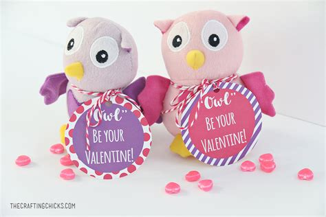 valentines owl owl printable the crafting