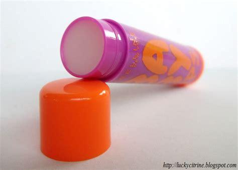 Maybelline Baby Energizing Orange lucky citrine maybelline baby spf 20 lip balm in