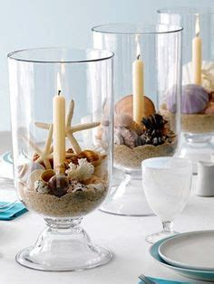 Seashell Table Ls by Seashell Centerpieces On Shell Centerpieces