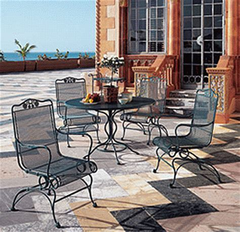 wrought iron patio furniture set briarwood wrought iron patio set briarwoodset