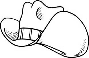 cowboy hat coloring pages getcoloringpages