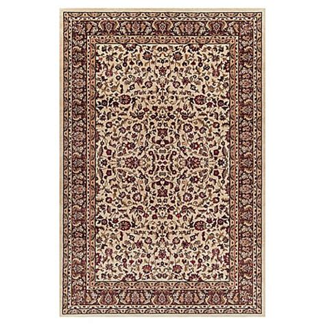 9 foot area rugs buy kashan 7 foot 10 inch x 9 foot 10 inch area rug in ivory from bed bath beyond