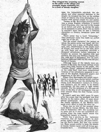 ERBzine 1449: Man Who Really Was Tarzan