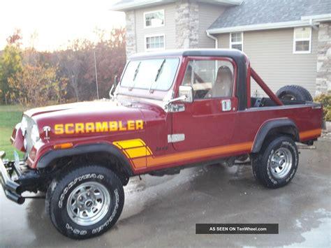 jeep cj laredo 1983 jeep cj8 scrambler laredo keywords 4x4 cj 8 cj cj7