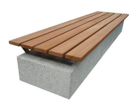 stone wood bench sir 2 cast stone bench wood urbastyle 174 esi external