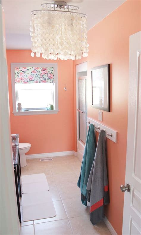25 best ideas about coral bathroom on coral bathroom decor navy coral rooms and