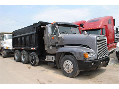 freightliner dump truck freightliner fld120 dump trucks for sale used trucks on