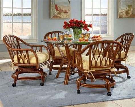kitchen tables and chairs with wheels kitchen table sets with caster chairs images di te sets