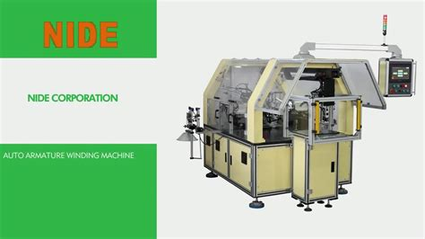 H L Mt60 Armature Rotor ningbo fully automatic armature rotor winding machine