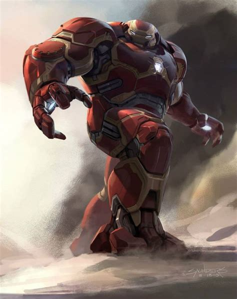 Age Of Ultron Iron The Vision Nations designs for hulkbuster vision and ultron in age of ultron its always