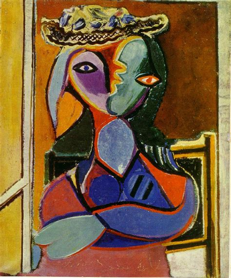 Picasso Femme Assise Seated 1936 In High