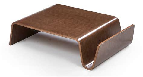 modrest milford modern walnut coffee table coffee tables