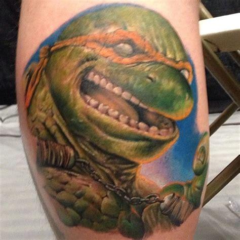 ninja turtle tattoo designs mutant turtles