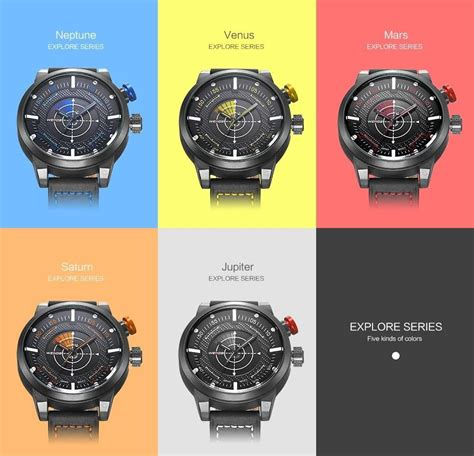 Weide Japan Quartz Miyota Leather Wh5201 Merah weide new genuine leather band fashion casual sports design buycoolprice