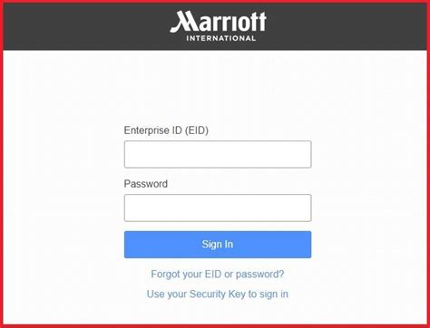 mgs marriott official login page  verified