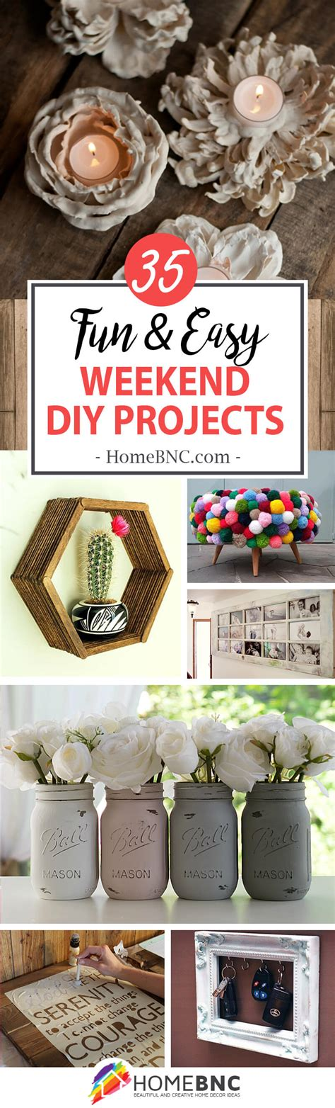 top diy weekend projects 35 best weekend diy home decor projects ideas and designs