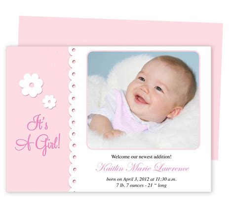 baby announcement templates baby announcement template shatterlion info
