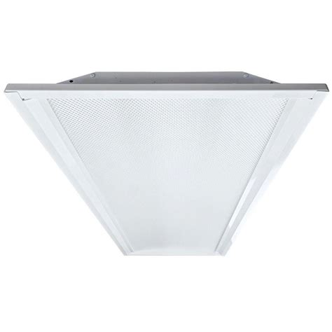 Eco Lighting By Dsi 2 Ft X 4 Ft White Retrofit Recessed 2 X 4 Led Light Fixtures
