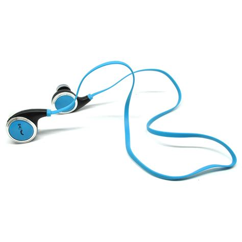 jogger sport bluetooth earphone with microphone qy8 blue jakartanotebook