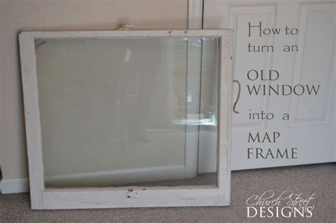 how to turn an old window into a photo frame hymns and old window map tutorial how to turn an old windo into a