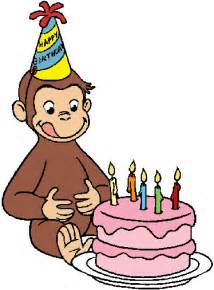 gallery gt curious george birthday clip art