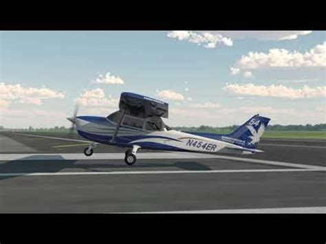 Normal Landing Of Cessna 172 normal crosswind approach landing lesson 1