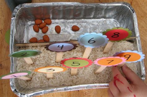 Garden Activities For Preschoolers Counting Garden Preschool Learning Activity