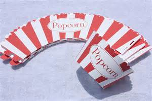 Popcorn Wrapper Template Free by Wrappers