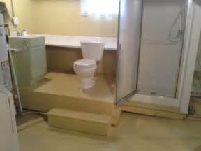 installing basement bathroom basement bathroom remodeling tips