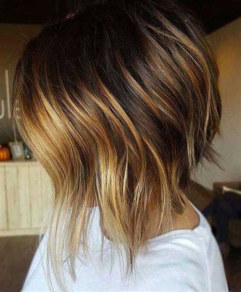 amazing graduated bob haircuts  modern ladies short