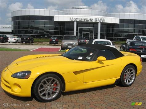 2005 viper race yellow dodge viper srt 10 16110102 gtcarlot car color galleries