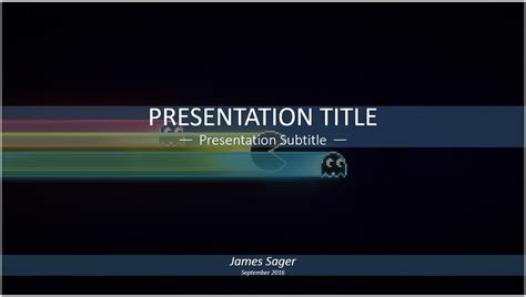 video game powerpoint template anuvrat info