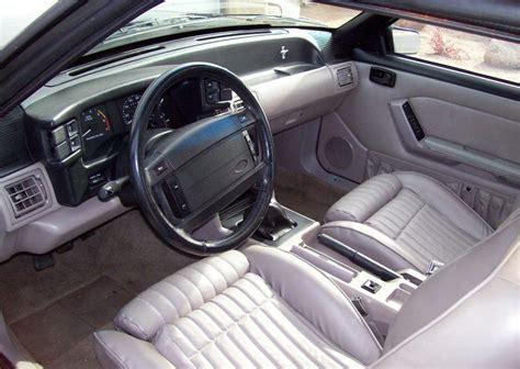 1990 mustang dash titanium gray 1990 ford mustang gt hatchback