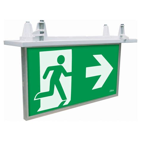 exit sign light box exit signs archives brilliant lighting