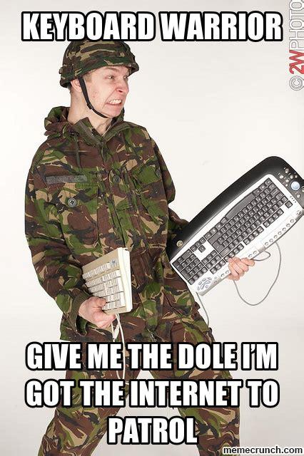 Keyboard Meme - keyboard warrior