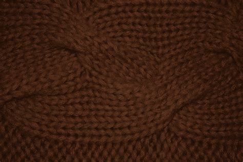brown pattern free brown cable knit pattern texture picture free photograph