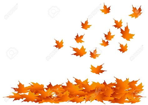 clipart autumn leaves falling clipart pile fall leaves pencil and in color