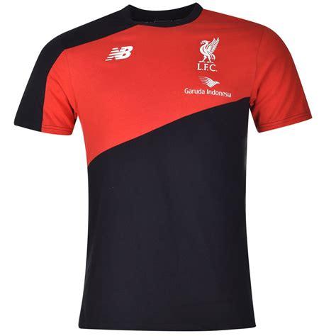 T Shirt Liverpool Est new balance lfc t shirt top liverpool casual mens gents ebay