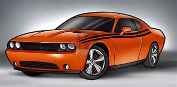 how to draw a 2014 dodge challenger by darkonator drawinghub