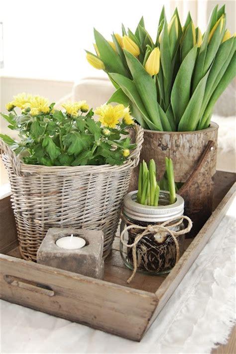 etagere osterdeko 16 tulip flower centerpieces living room small