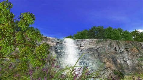waterfall screensaver  windows hd youtube